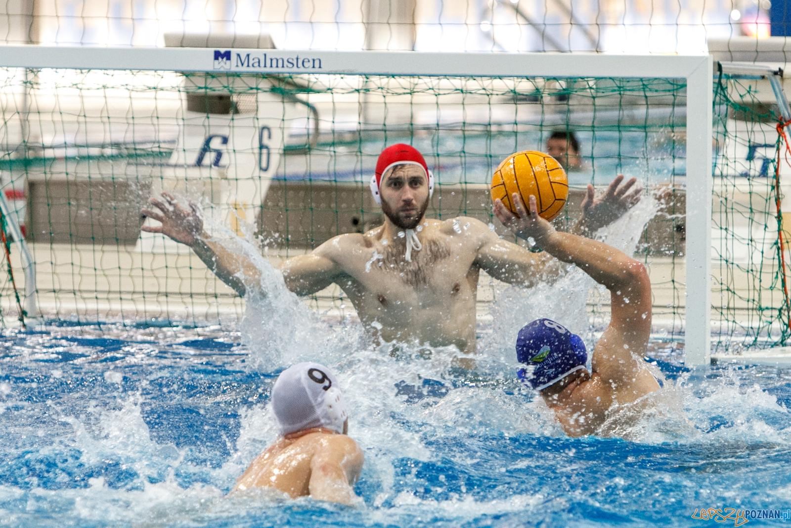 W ramach 3 kolejki Mistrzostw Polski Seniorów w piłce wodnej rozegrano dzisiaj pierwsze z dwóch spotkań na, które odbył się na Termach Maltańskich. Drużyna KS Waterpolo Poznań pewnie pokonała GKPW 59 Gorzów 27:5.