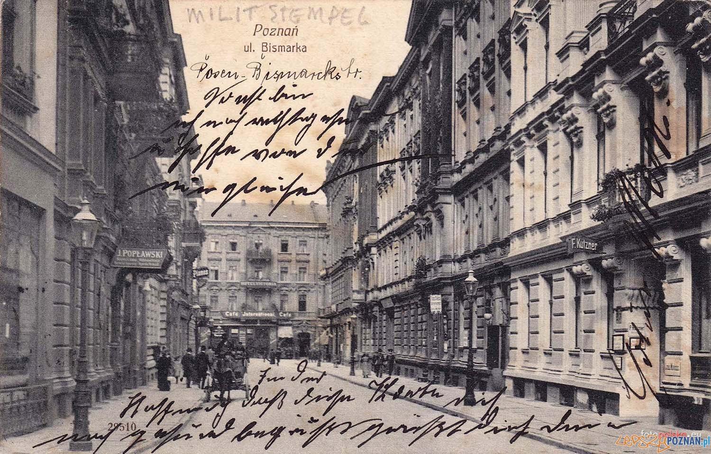 Bismarck Strasse / dziś Kantaka - rok 1914