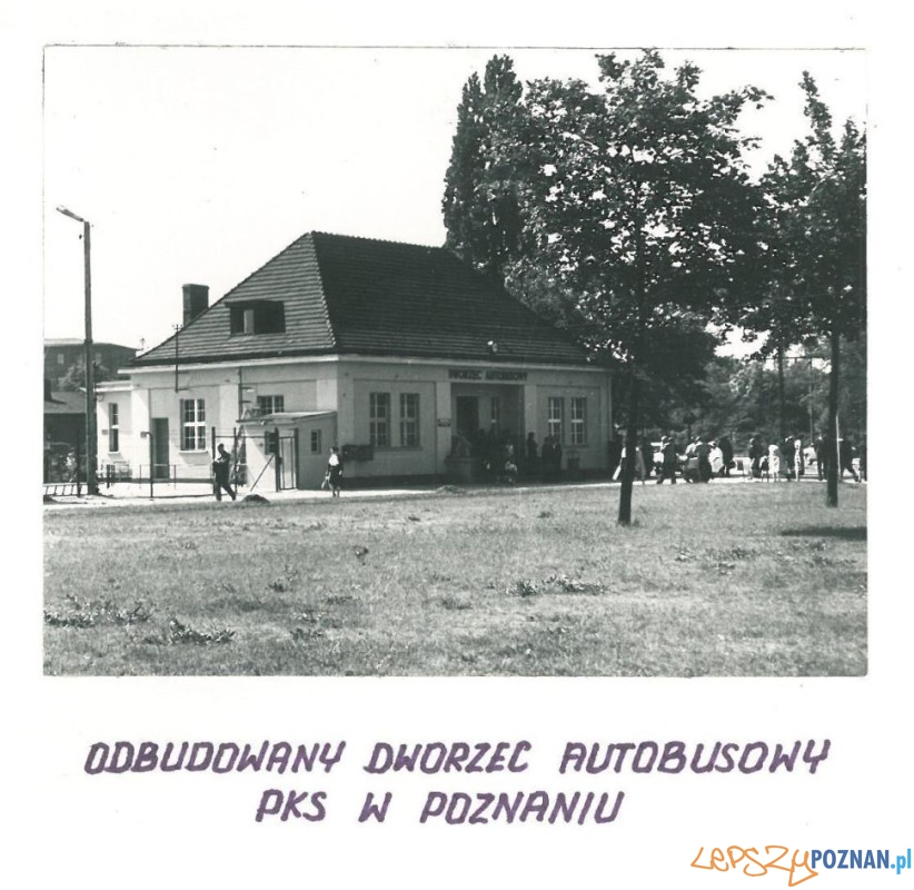 Dworzec PKS - 1962r.