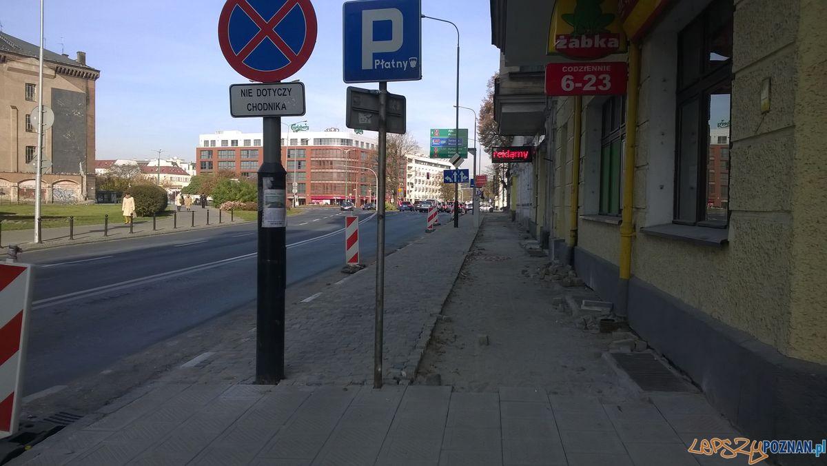 Chodnik na Garbarach_1  Foto: Rada Osiedla Stare Miasto