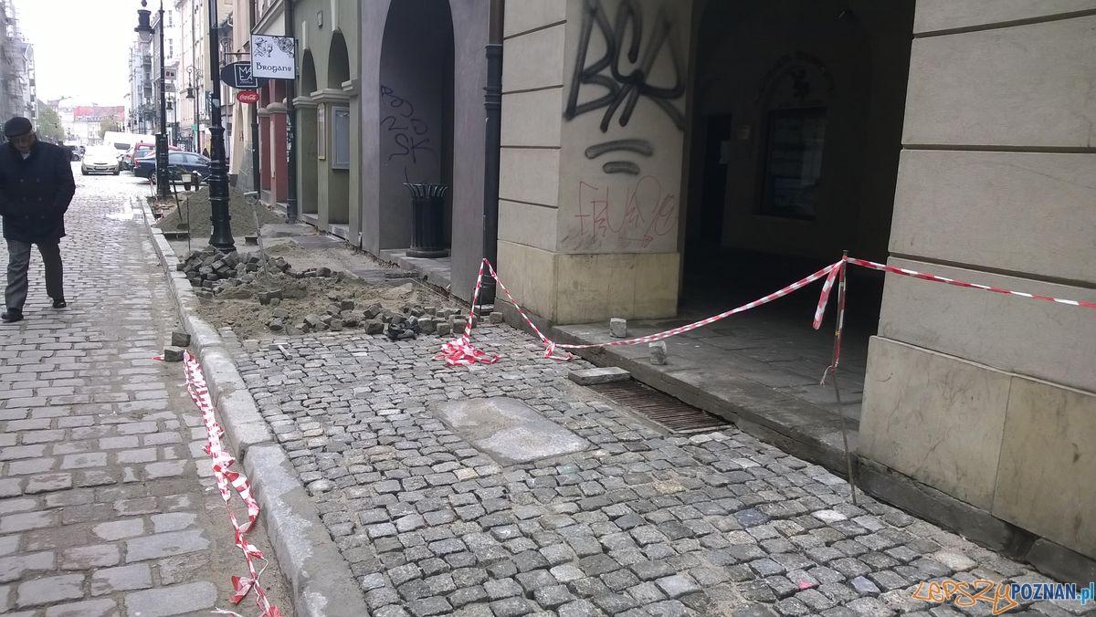 Prace na Wielkiej  Foto: Rada Osiedla Stare Miasto