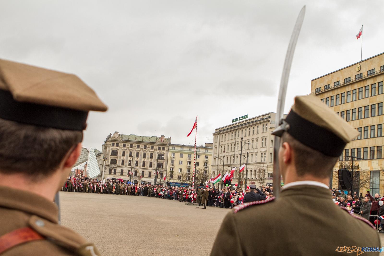 Narodowy Dzień Niepodległości 2015 - 11.11.2015 r.  Foto: LepszyPOZNAN.pl / Paweł Rychter