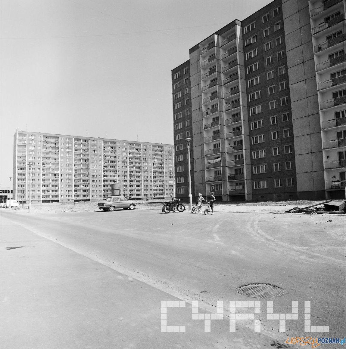 Osiedle Kopernika 1979  Foto:  Fr. Nowakowski - Cyryl