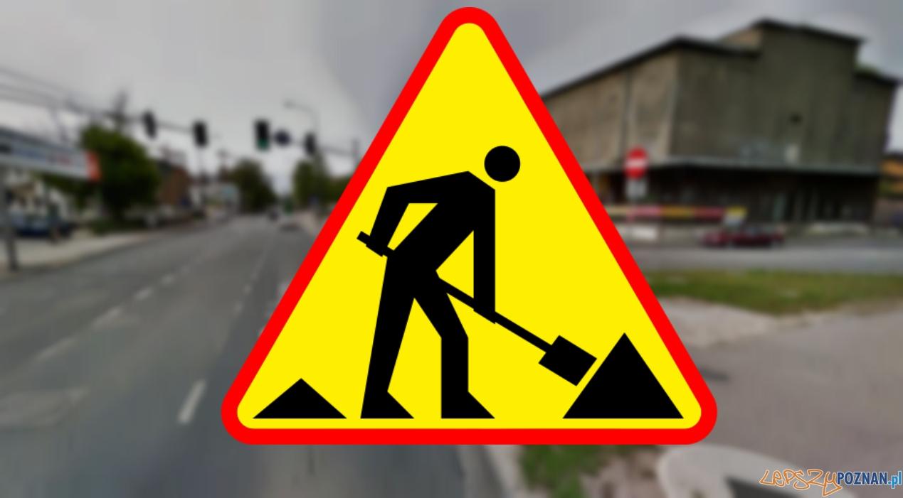 Utrudnienia na Grabrach do końca 2015 roku  Foto: Google street view