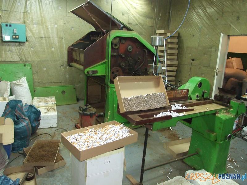 Nielegalna fabryka ćmików zlikwidowana
