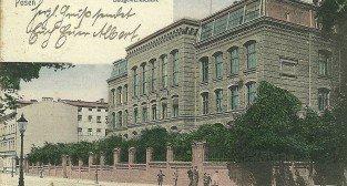 Rybaki 1906 - budynek szkolny