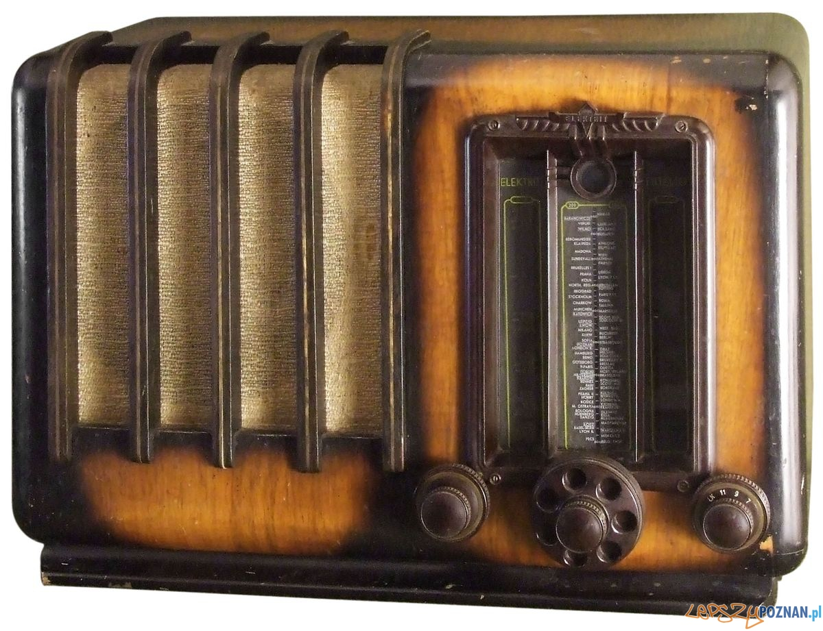 Elektrit Fidelio Z 1938 r. z kolekcji Jacka Bochińskieho  Foto: Muzeum Narodowe