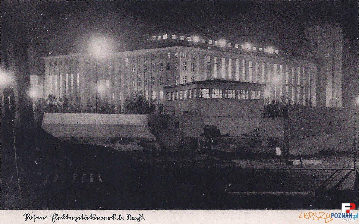 Elektrociepłownia na Garbarach, ok. 1939 r