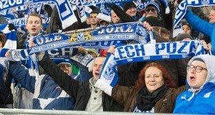 Liga Europy - KKS Lech Poznań - ACF Fiorentina (najlepsi kibice