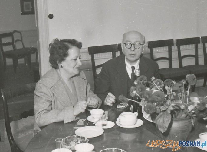 Stana Durić-Klajn i Stanisław Wiechowicz