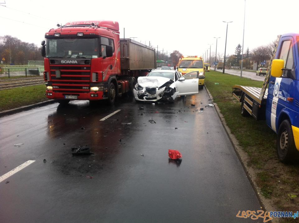 Wypadek na ul. Warszawskiej