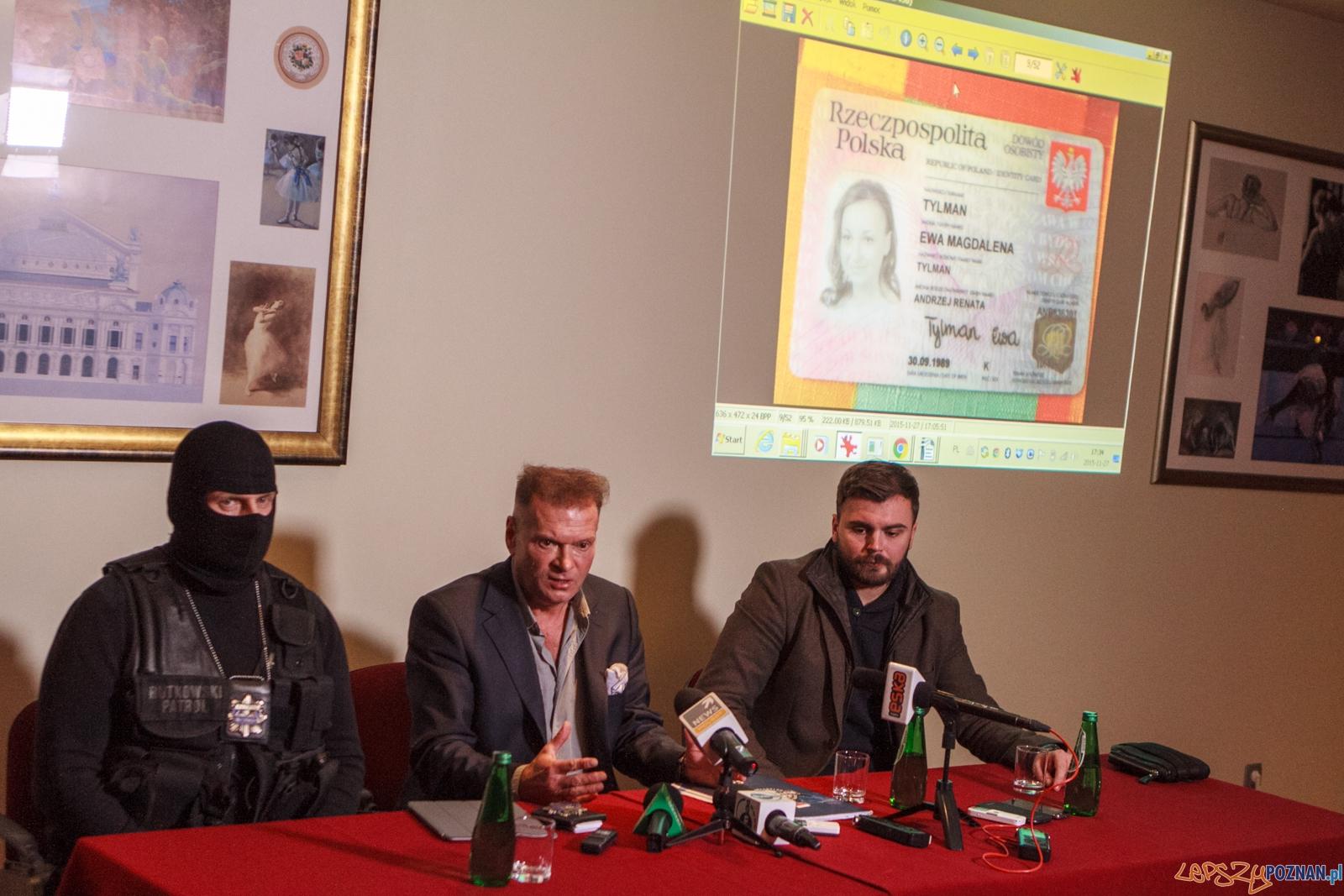 Konferencja w sprawie zaginięcia Ewy Tylman - Poznań 27.11.201  Foto: LepszyPOZNAN.pl / Paweł Rychter