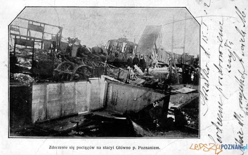 Głowna katastrofa kolejowa 23.11.1901