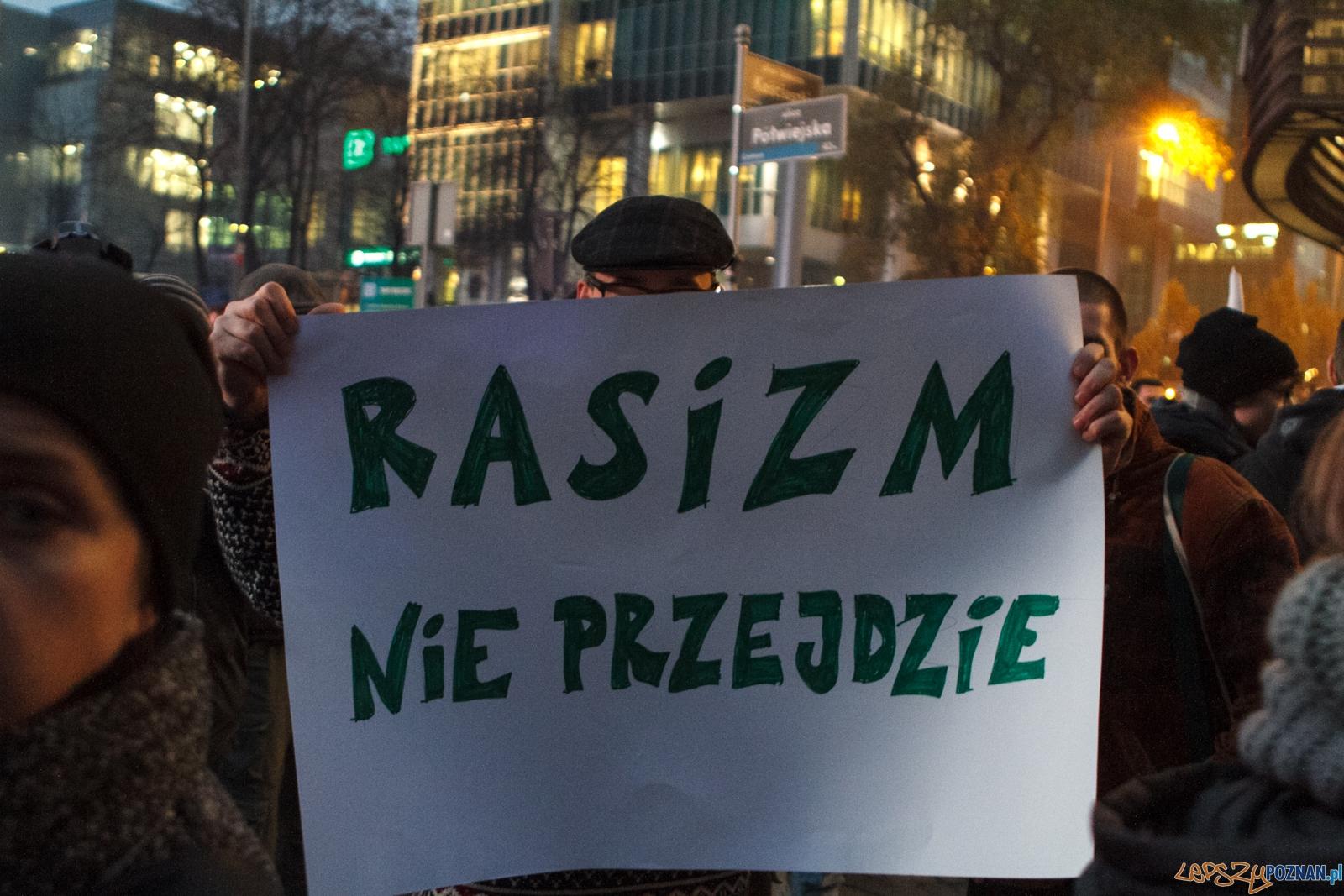 Stop Rasizmowi w Poznaniu - 06.11.2015 r.  Foto: LepszyPOZNAN.pl / Paweł Rychter