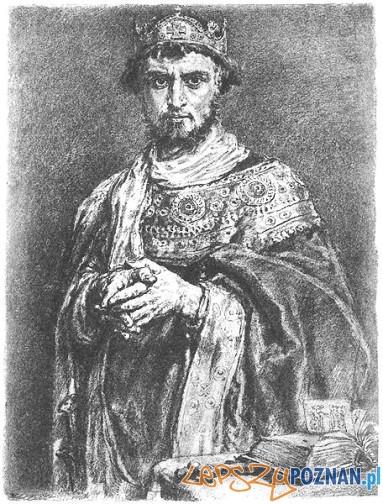 Kazimierz I Odnowiciel, rycina Jana Matejki