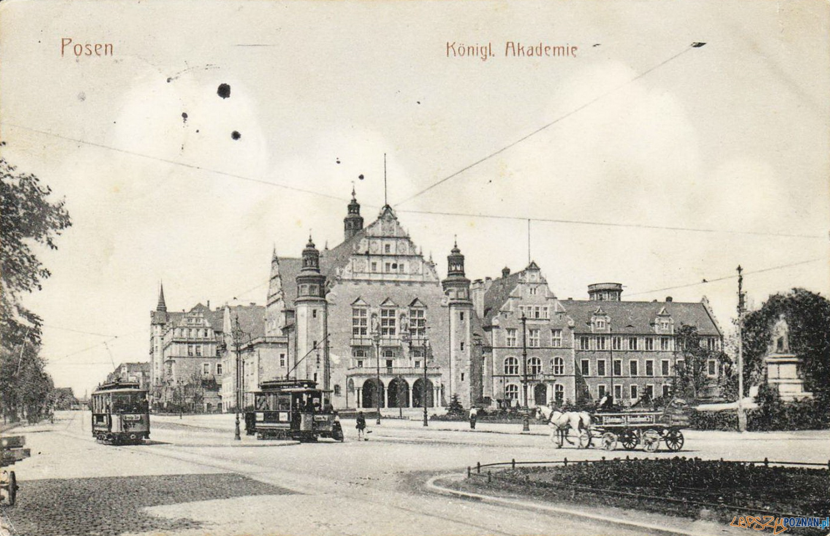 Akadmia Królewska - dzisiejsza Aula UAM (1910)