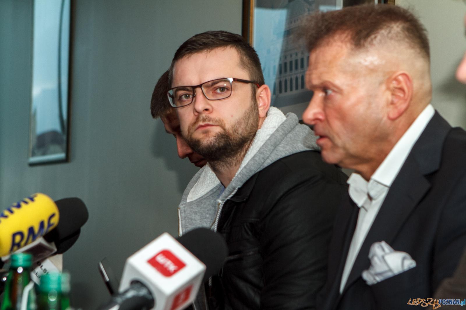 Konferencja w sprawie zaginięcia Ewy Tylman - Poznań 26.11.201  Foto: LepszyPOZNAN.pl / Paweł Rychter