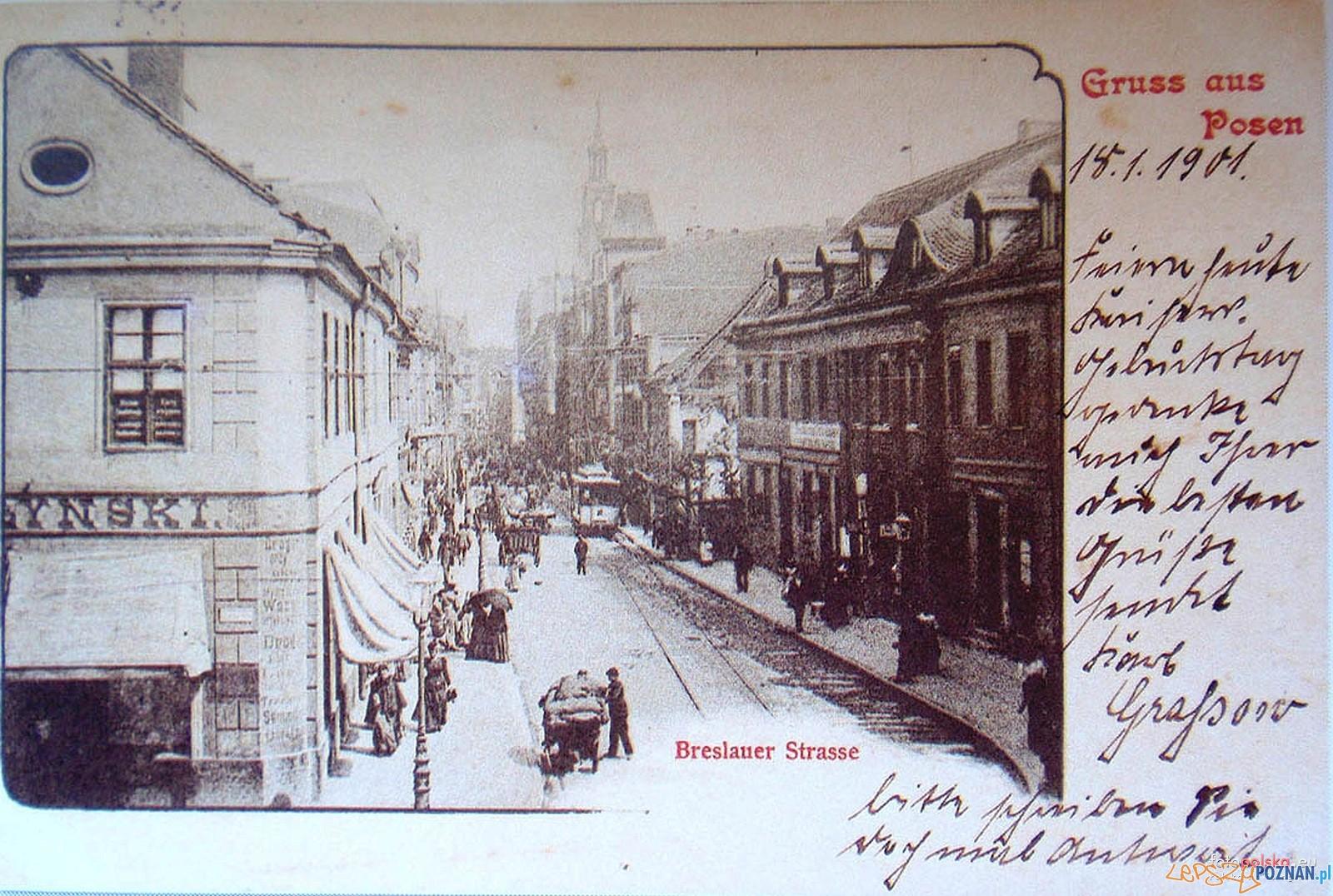 Wroclawska w 1901 roku