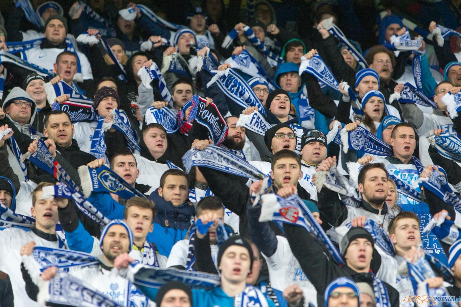 Liga Europy - Lech Poznań - FC Basel (najlepsi kibice na świec  Foto: lepszyPOZNAN.pl / Piotr Rychter