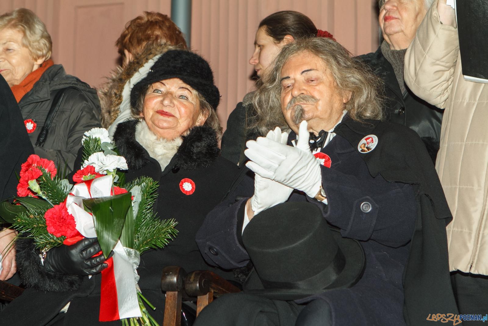 Przybycie Ignacego Jana Paderewskiego do Poznania - 26.12.2015 r  Foto: LepszyPOZNAN.pl / Paweł Rychter