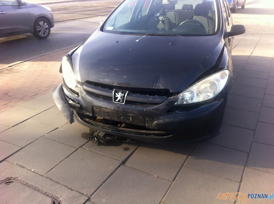 Wypadek na moście Rocha  Foto: Pomoc Drogowa EuroHol