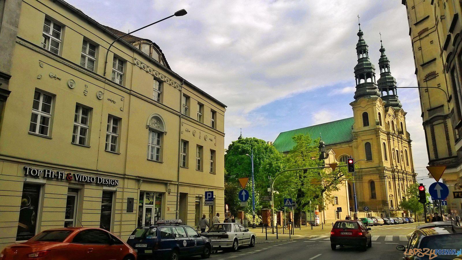 Garbary, po lewej dom Kazimierza Kantaka (2014)