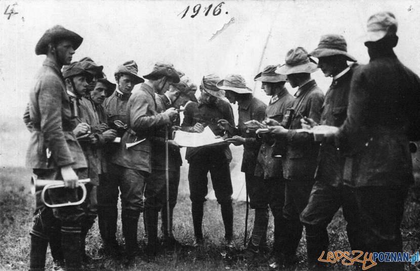 Komenda zlotu w Wierzenicy, Zielone Świątki, 10-12 IV 1916