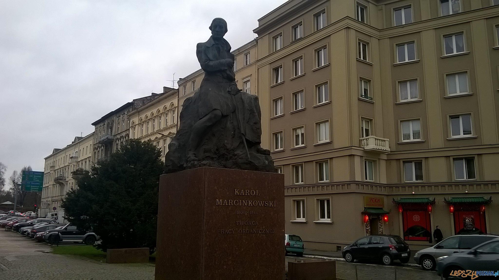 Pomnik Karola Marcinkowskiego  Foto: Grupa przewodników PoPoznaniu