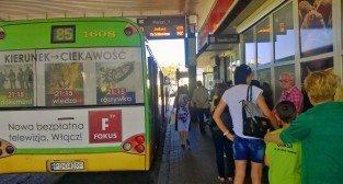 Dworzec autobuoswy na Śródce