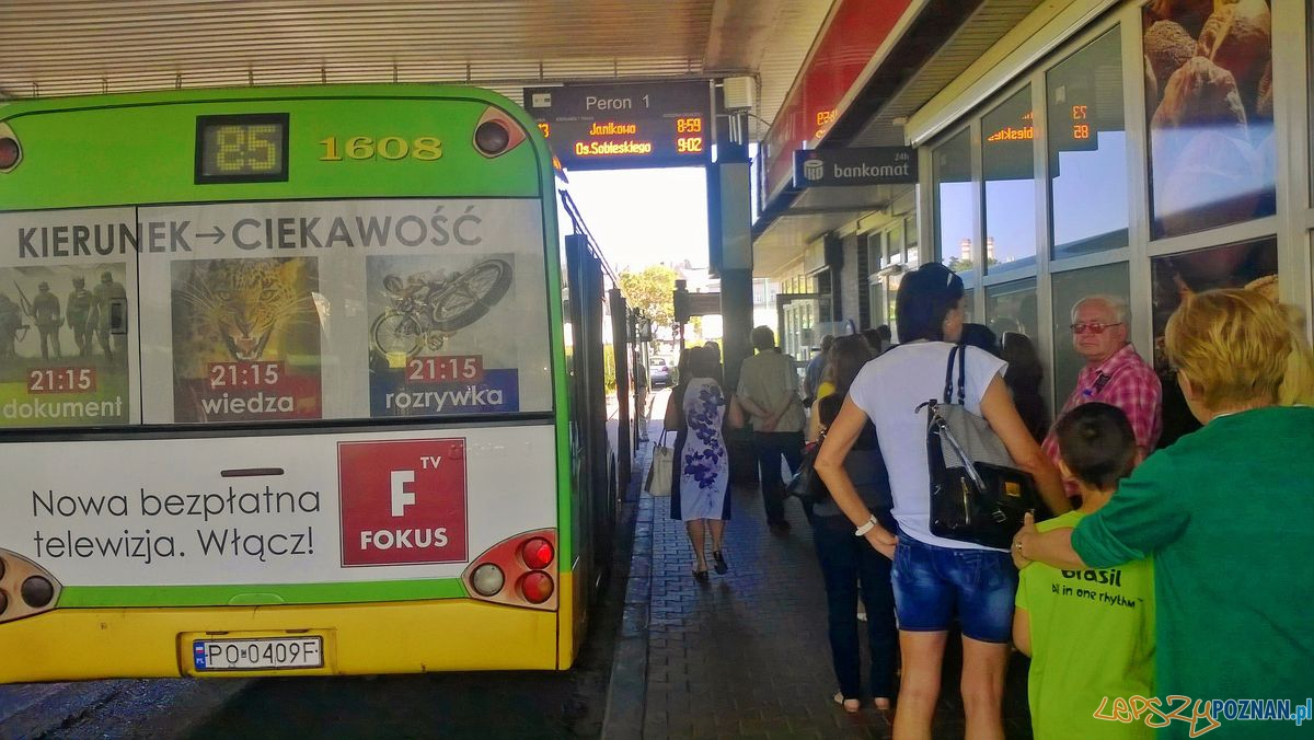 Dworzec autobuoswy na Śródce  Foto: Tomasz Dworek