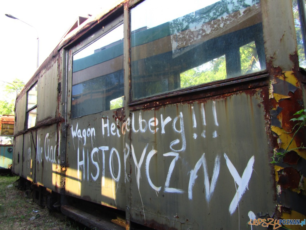 Historyczny wagon tramwajowy