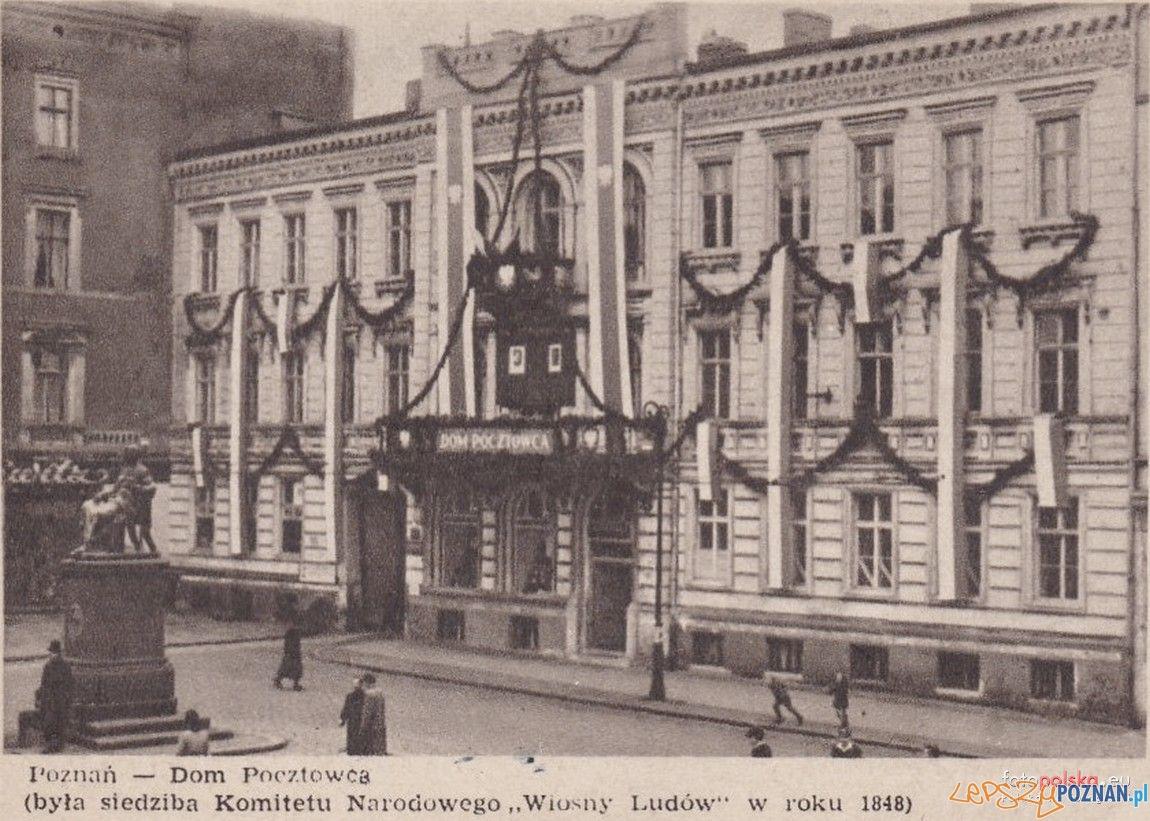 Pałac Anderschów u wylotu Podgórnej - przed wojną
