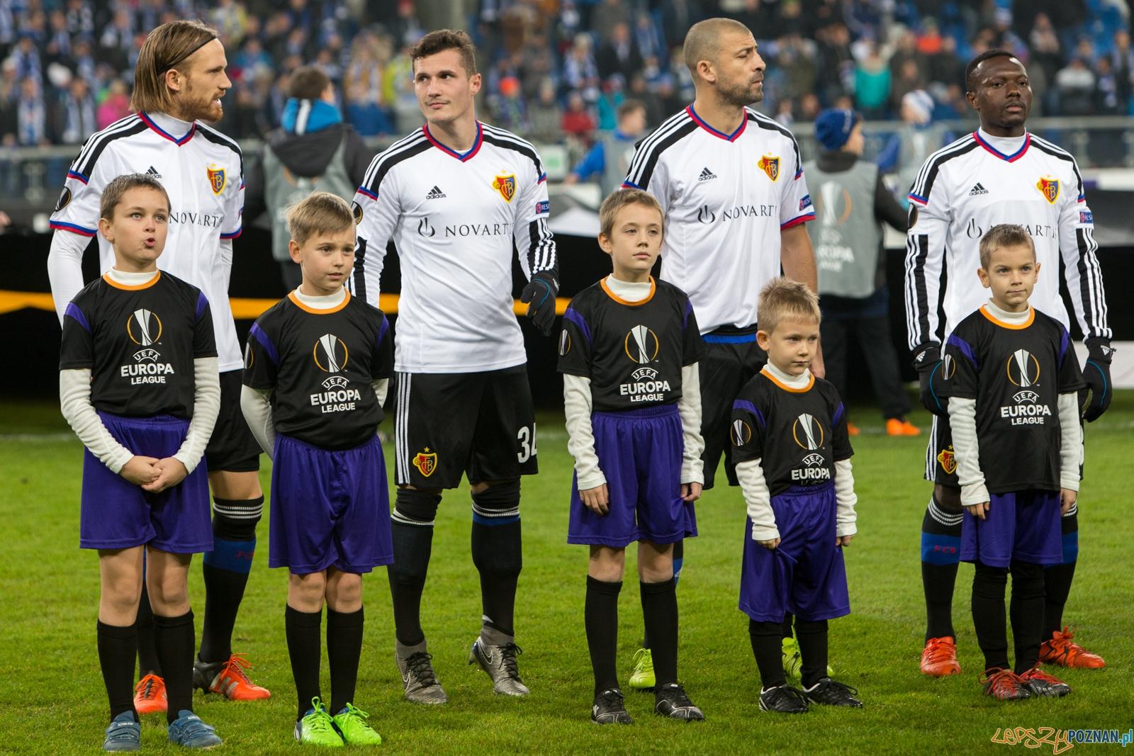 Liga Europy - Lech Poznań - FC Basel  Foto: lepszyPOZNAN.pl / Piotr Rychter