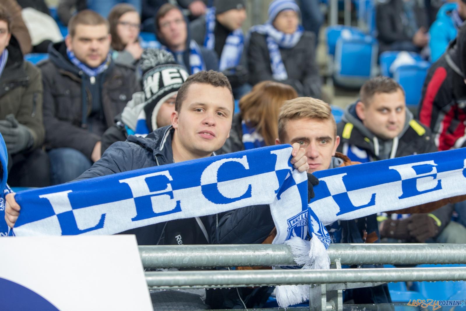 18. kolejka Ekstraklasy - Lech Poznań - Wisła Kraków (najleps  Foto: lepszyPOZNAN.pl / Piotr Rychter