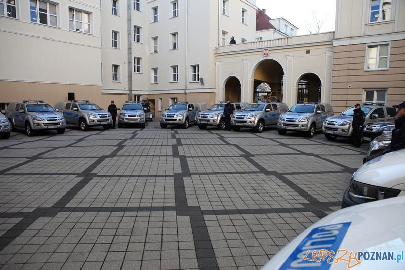 Nowe samochody szkiełów już na służbie  Foto: KWP w Poznaniu