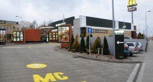 Pierwszy McDonald's w Luboniu