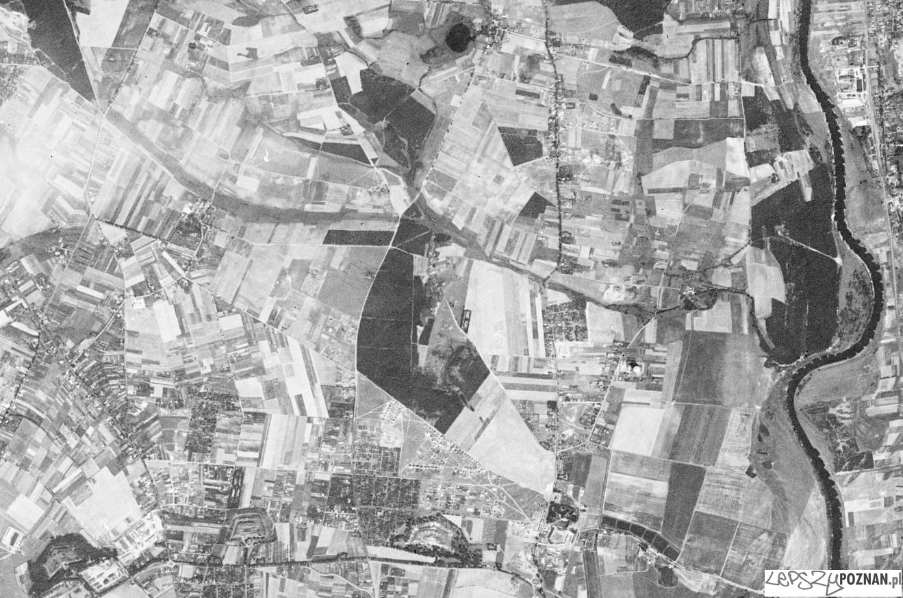 Piątkowo - Morasko - Umultowo - Naramowice - zdjęcie z amerykańskiego satelity szpiegowskiego 1965 r