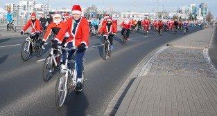 II Rowerowy Przejazd Mikołajów (27.12.2015)