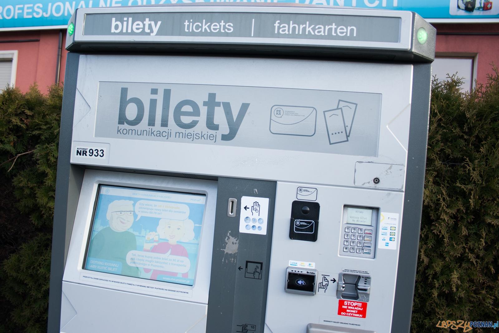 Biletomat / bilety  Foto: © lepszyPOZNAN.pl / Karolina Kiraga