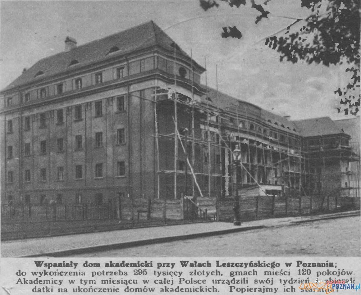 Dom Akademicki Hanka przy Wałach Leszczyńskiego