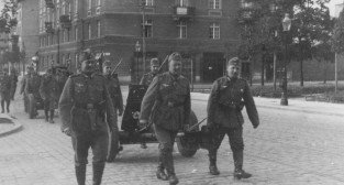 Niemieccy zołnierze na Garbarach