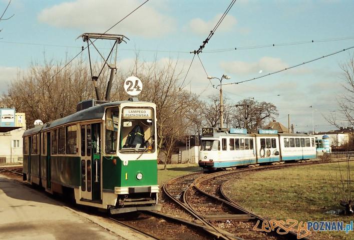 Linia 24 - pętla Piątkowska