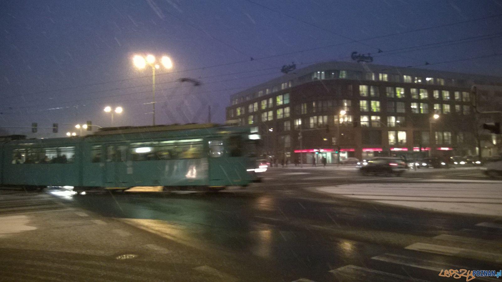 Zima w Poznaniu - Garbary