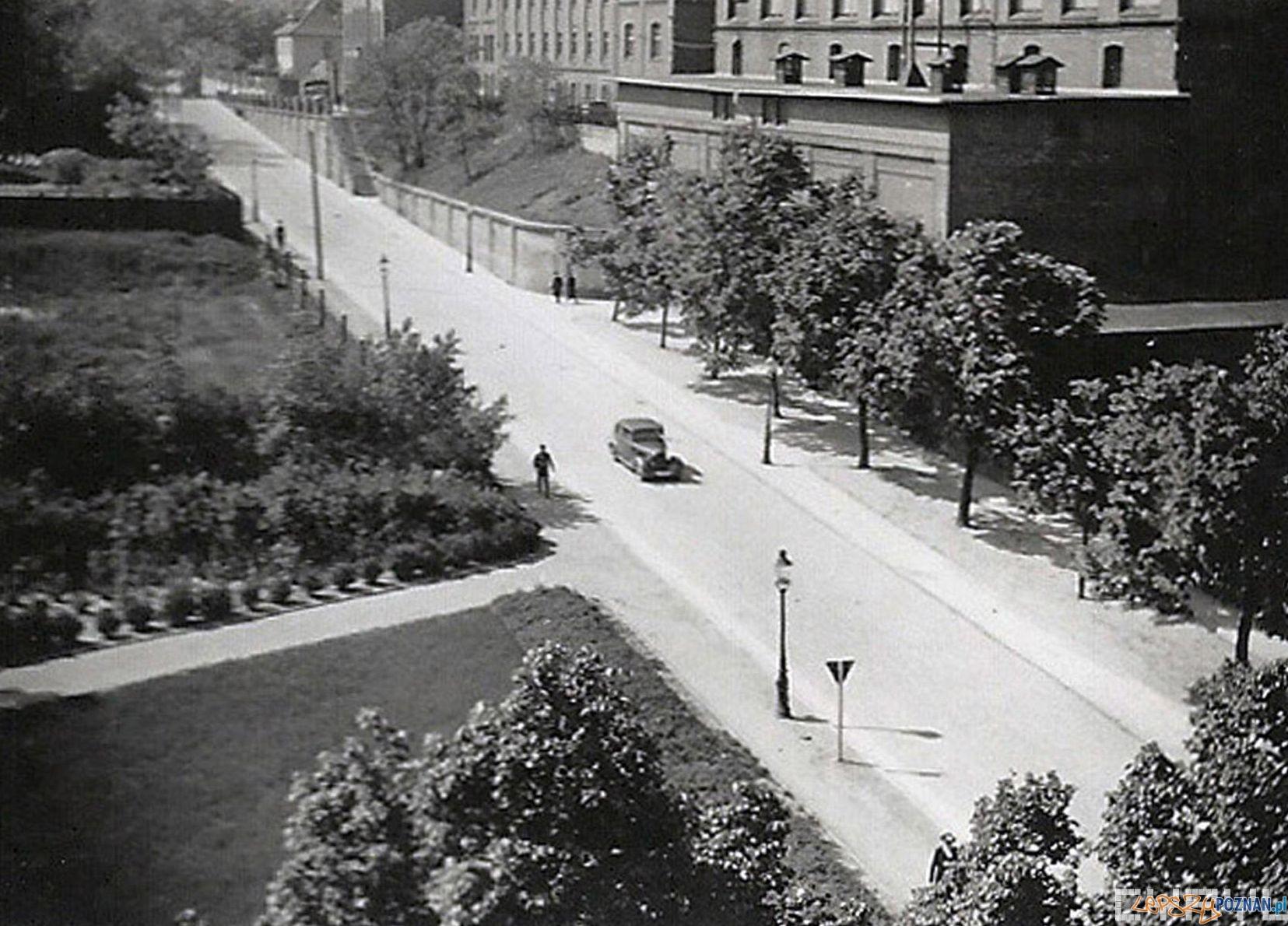 Ulica Kościuszki podczas okupacji (Grolmanwall)
