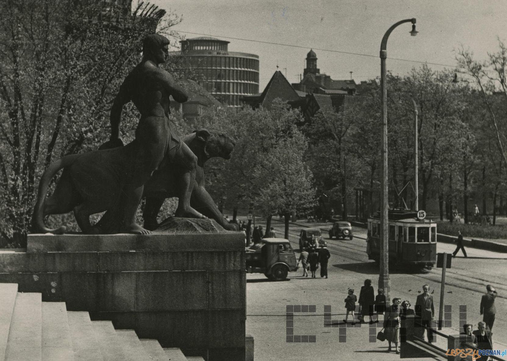 Fredry i Okrąglak  Foto: J. Osuchowski / Cyryl 1960-65,  kolekcja pocztowek Małgorzaty Szulc
