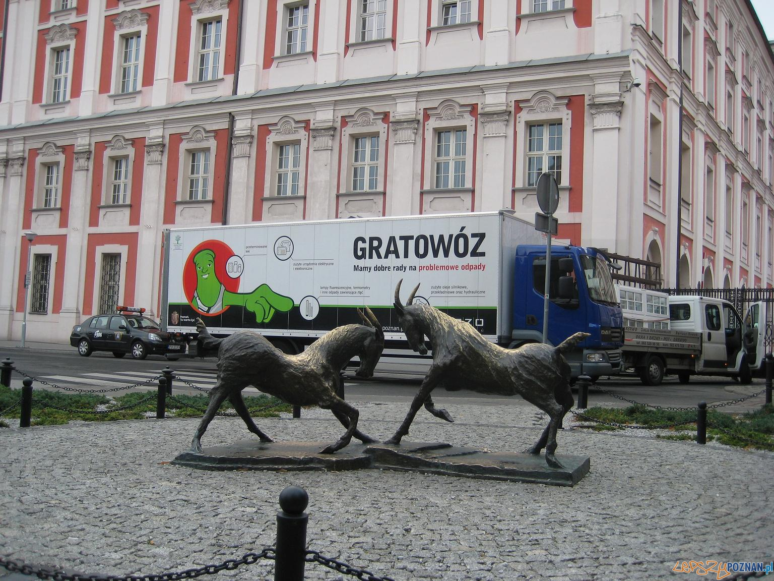 """Ciężaróka """"Gratowóz""""  Foto: UMP / poznan.pl"""