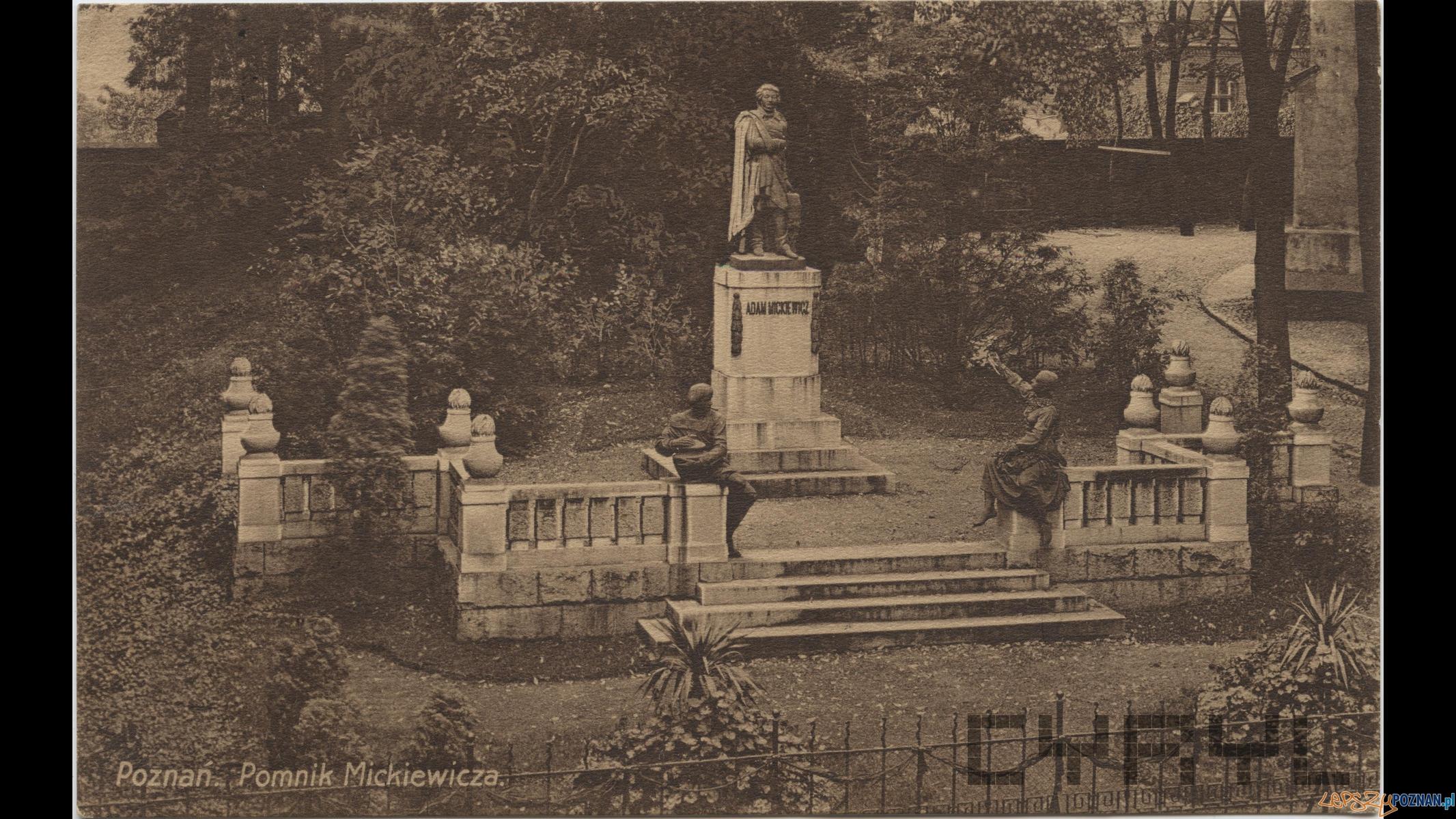 Pomnik Adama Mickiewicza (1909-14)