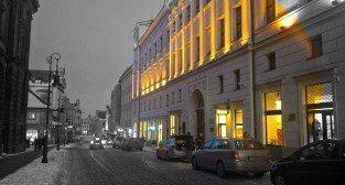 Paderewskiego zimą