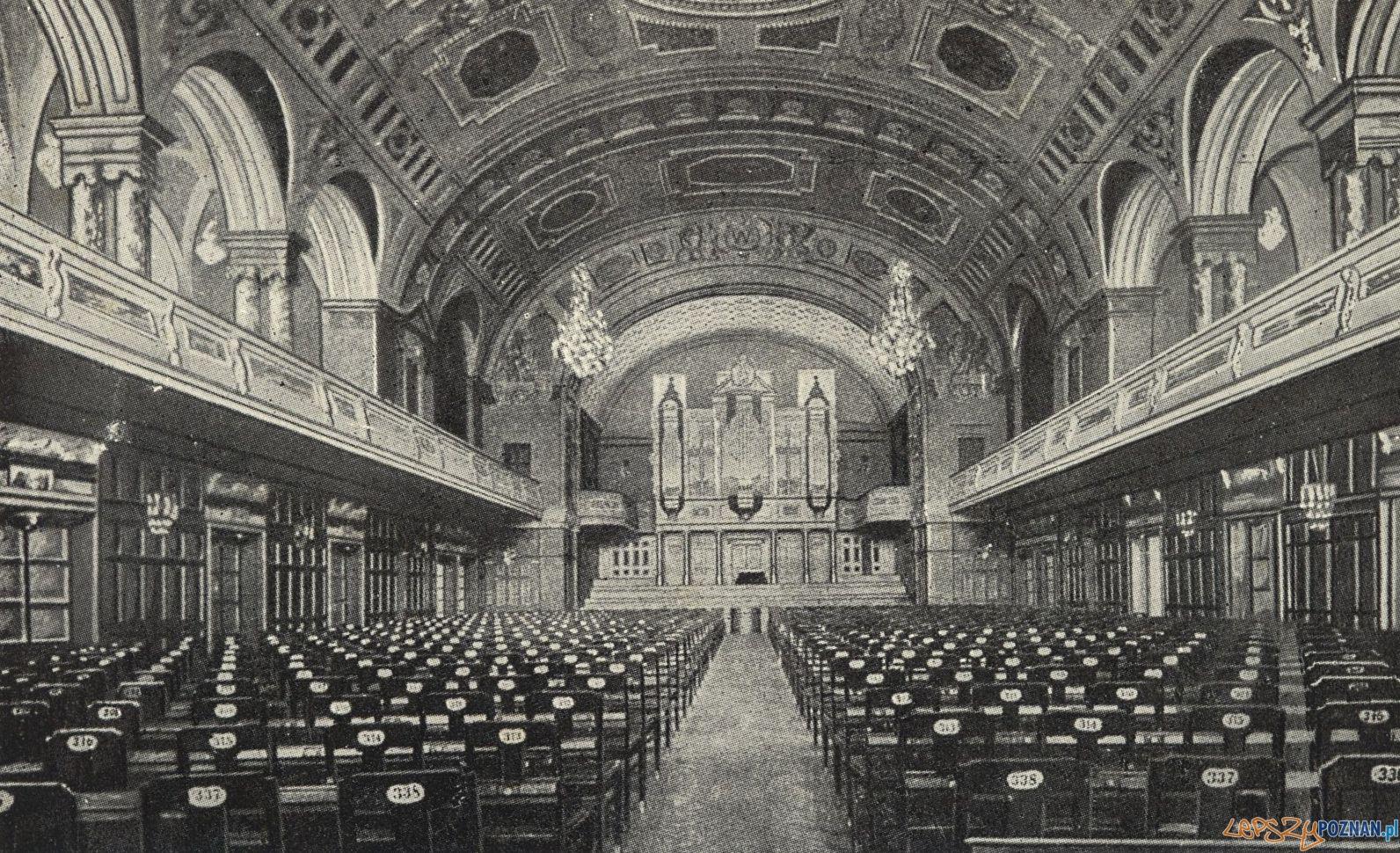 Sala koncertowa - dziś Aula UAM - lata 1915 - 1920