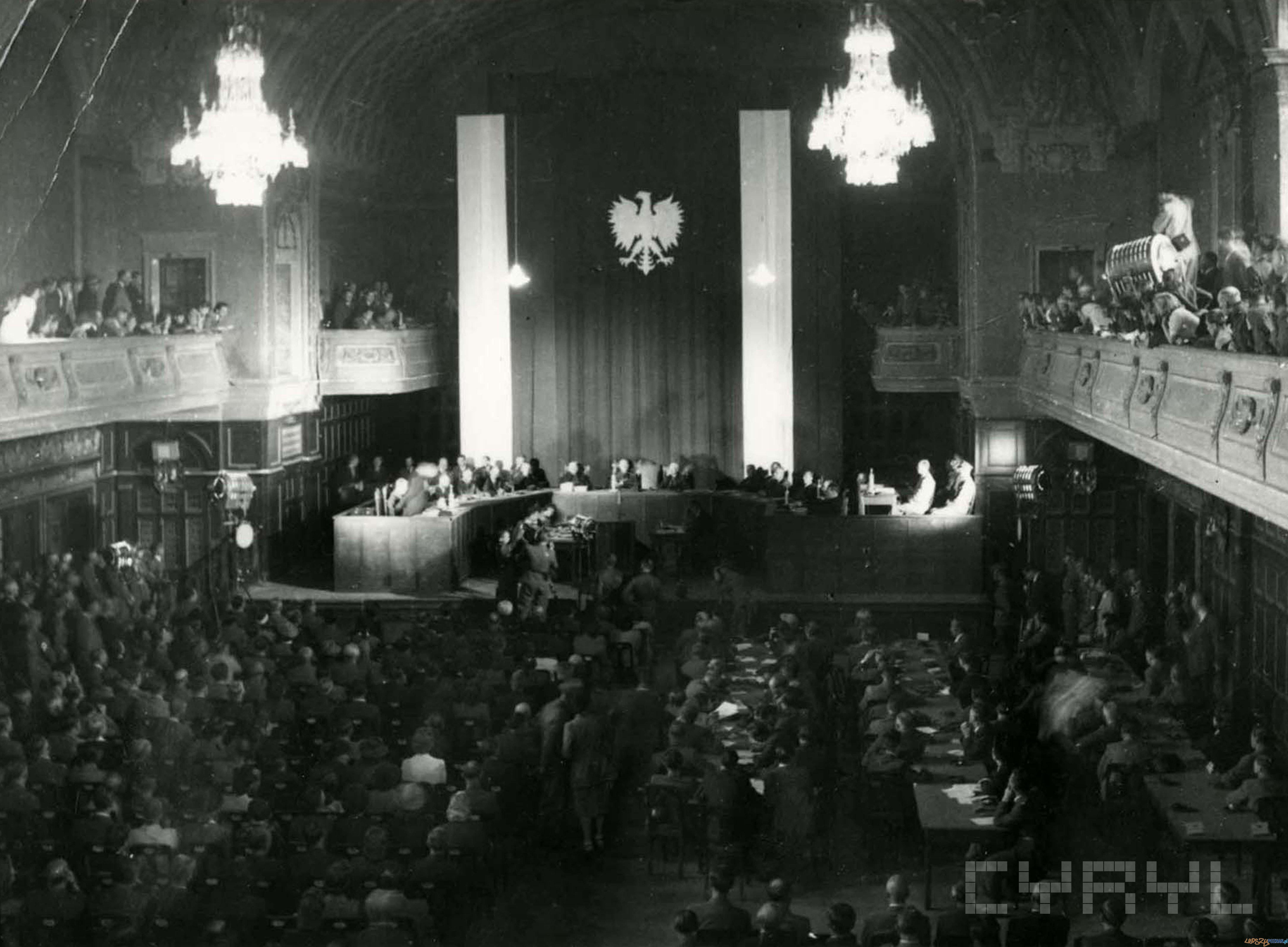 Proces Greisera 1945  Foto: Zbigniew Zielonacki / Cyryl